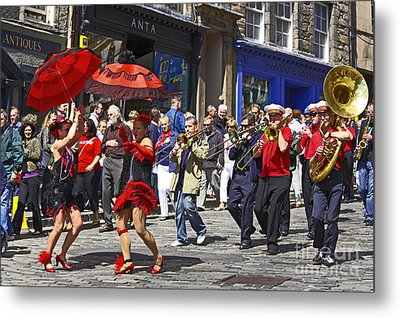 Criterion New Orleans Parade Band Metal Print