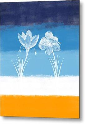 Crocus Flower Metal Print by Aged Pixel