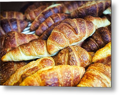 Croissants  Metal Print by Tanya Harrison
