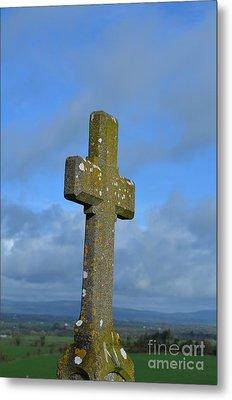 Cross At Cashel Metal Print