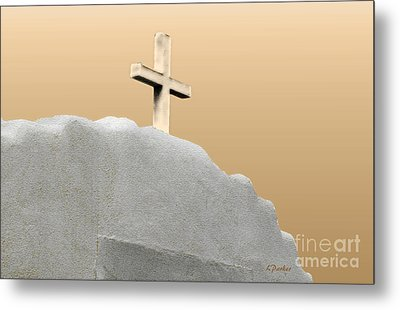 Cross Of The Martyrs Metal Print by Linda  Parker