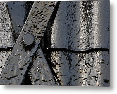 Cross Over Metal Print by Wendy Wilton