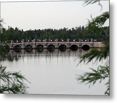 Crossing Metal Print