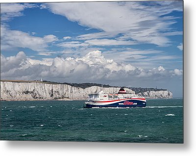 Crossing The English Channel Metal Print by Tim Stanley