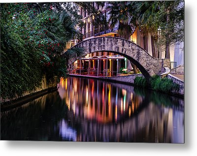 Crossing The River Metal Print by Jeffrey Spencer