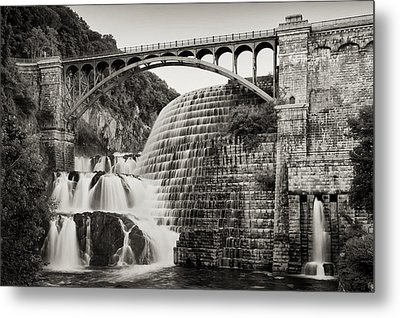 Croton Dam Metal Print by Bill Wakeley