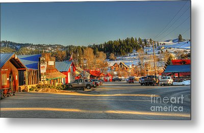 Metal Print featuring the photograph Crouch Main St by Sam Rosen