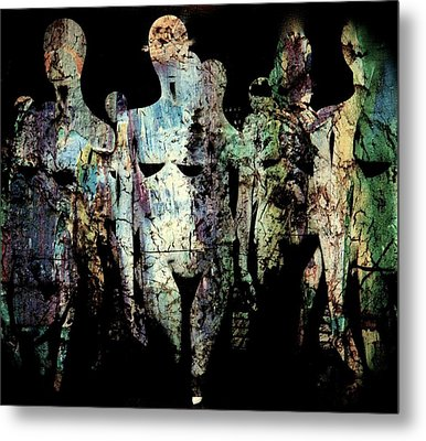 Crowd  Metal Print