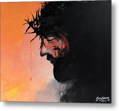 Blood Of The Redeemer Metal Print by Gary Smith