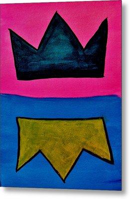 Crowns Metal Print