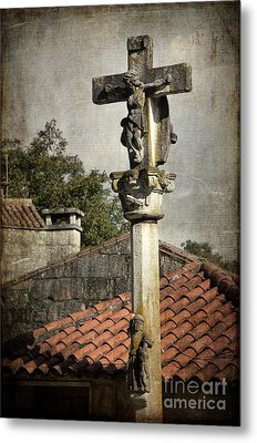 Cruceiro In Galicia Metal Print by RicardMN Photography