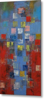 Crucifixion Metal Print by Michael Creese