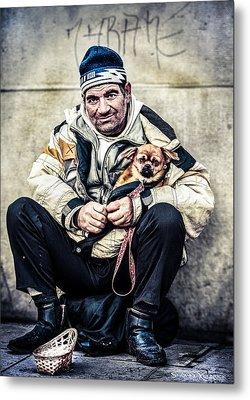 Cruel Street Life Metal Print by Stwayne Keubrick