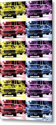 Cruise Pop 4 Metal Print by Gordon Dean II