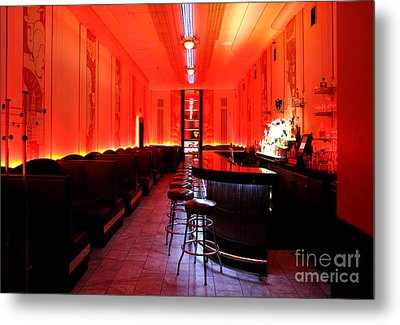 Cruise Room Oxford Hotel Denver Metal Print