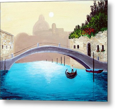 Cruisin Venice Metal Print by Larry Cirigliano