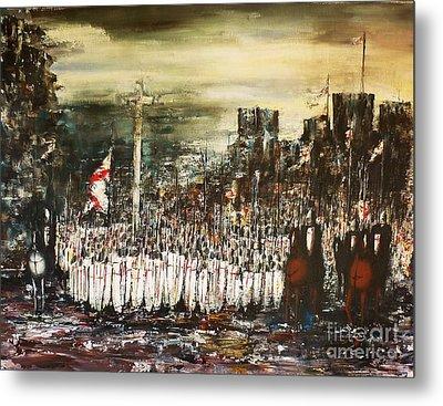 Crusade Metal Print by Kaye Miller-Dewing