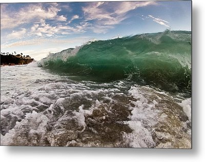 Crushed Metal Print by Andrew Raby