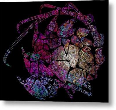 Crustacean Metal Print by Amanda Moore