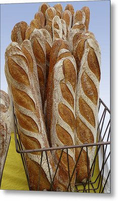 Crusty Bread Metal Print