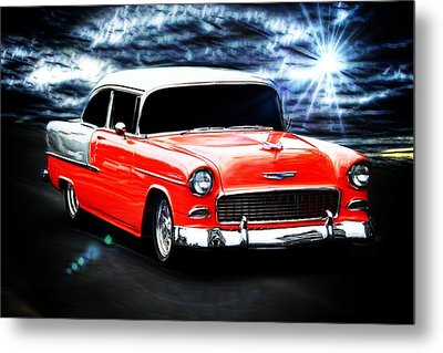 Classic Car Metal Print featuring the photograph Cruze'n  by Aaron Berg