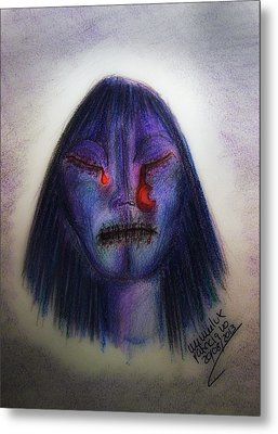 Cry Me A Moon Metal Print by Mimulux patricia no No