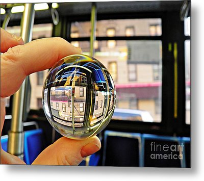 Crystal Ball Project 64 Metal Print