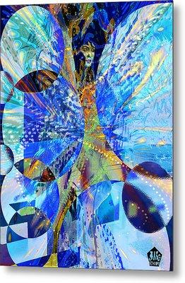 Crystal Blue Persuasion Metal Print by Seth Weaver