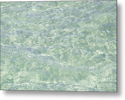 Crystal Clear Atlantic Ocean Key West Metal Print by Ian Monk