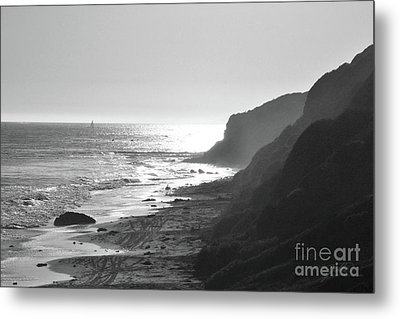 Crystal Cove I Metal Print