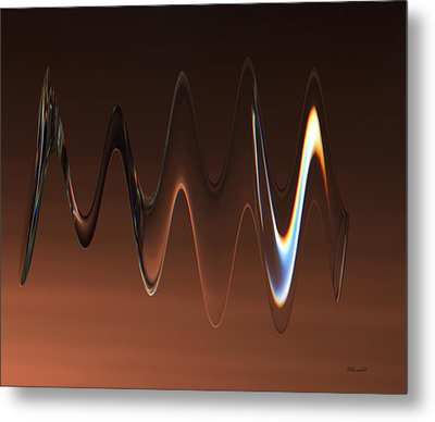 Metal Print featuring the photograph Crystal Flux by Dennis Lundell