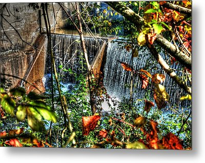Crystal Lake Falls Metal Print