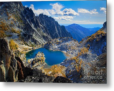 Crystal Lake Metal Print by Inge Johnsson
