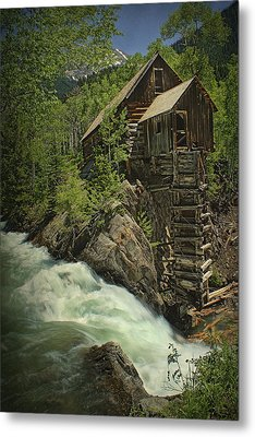 Crystal Mill Metal Print by Priscilla Burgers