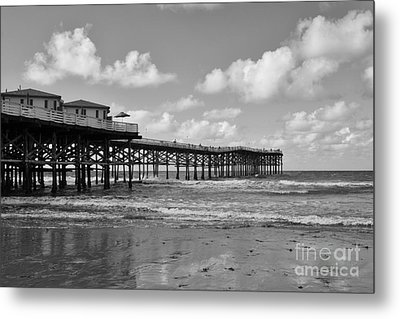 Crystal Pier In Pacific Beach Metal Print