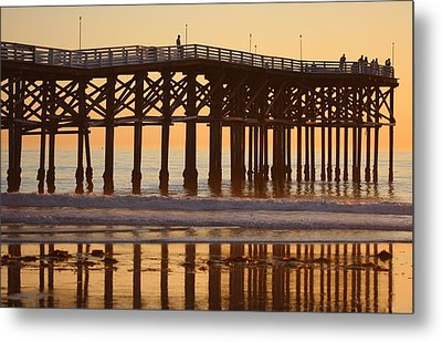 Crystal Pier Metal Print by Nathan Rupert