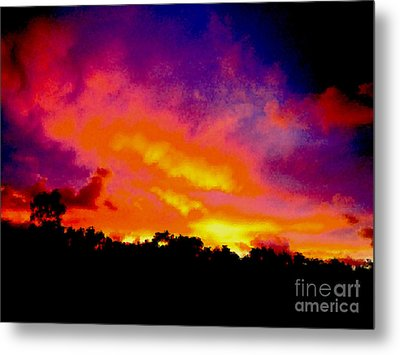 Metal Print featuring the photograph Crystal Sunrise by Mark Blauhoefer