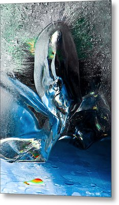 Crystalline Metal Print by Petros Yiannakas