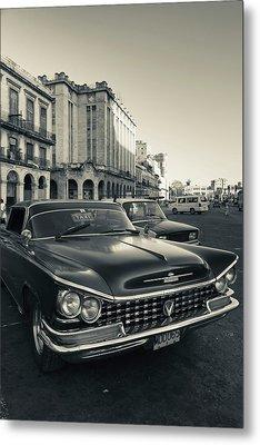 Cuba, Havana, Havana Vieja, Detail Metal Print