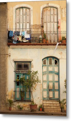 Cuba, Havana, Havana Vieja, Old Havana Metal Print