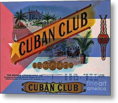 Cuba Vintage Metal Print