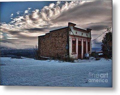 Cuban Queen Bordello In Jerome Arizona Metal Print by Ron Chilston