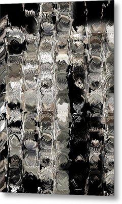 Cubes Unraveled  Metal Print by Jack Zulli