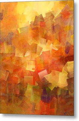 Cubic Lightbreak Metal Print by Ann Croon