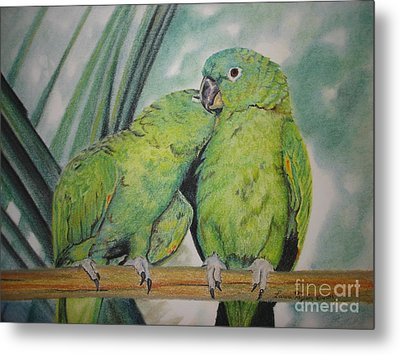 Cuddles Metal Print by Laurianna Taylor