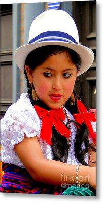 Cuenca Kids 231 Metal Print