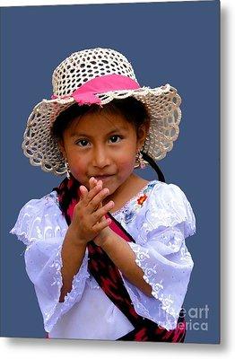 Cuenca Kids 318 Metal Print