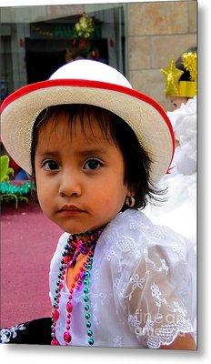 Cuenca Kids 376 Metal Print