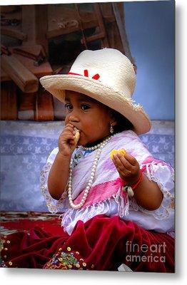 Cuenca Kids 435 Metal Print