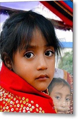 Cuenca Kids 462 Metal Print